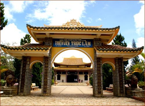 Truc Lam Zen Monastery   _  Dalat - Vietnam 01